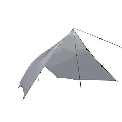 OUTAD Lightweight Rain Tarp, Waterproof Shelter, 14.8 x 20ft/4.5 x 6m, Weight: 4.3lb/1.95kg