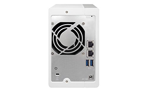 QNAP TS-231P2 Desktop NAS Gehäuse mit 1 GB DDR3 RAM, Powerful 2-Bay Storage Server
