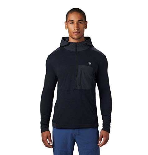 Mountain Hardwear Men's Cragger/2 Hoody - Dark Storm - Large