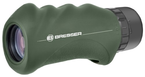 Bresser wasserdichtes Monokular Condor 10x25 Dachkant mit hochwertiger Mehrschichtvergütung inklusive Transporttasche und Handschlaufe