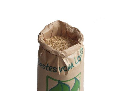 WIDU Bio Weizen geeignet zum Backen Getreide Ganzes Korn 12,5 KG Getreidesack