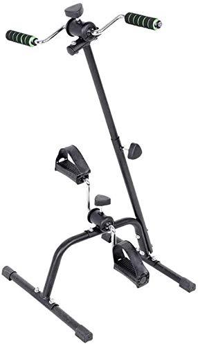 Máquinas de step Plegable bicicleta for ejercicios de brazos y piernas ejercitador de pedal portátil Ejercitador - Máquinas de ejercicios for personas mayores y ancianos - El pedal de bicicleta estáti