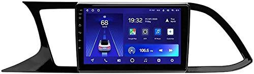 ZHFF Car Stereo Android 10.0 Radio Compatible Seat Leon 3 2012-2020 Navegación GPS 9 '' Unidad Principal Pantalla táctil HD Reproductor Multimedia MP5 Receptor de Video con 4G WiFi Car In-Dash Video
