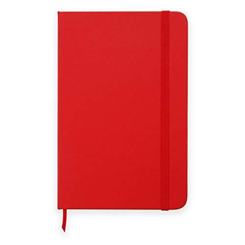 Caderneta 13x20 Classic Vermelha - Pontilhada - Guio Art - Bullet Journal | Caderno pontilhado