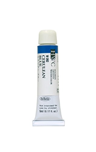 Holbein Artists' Watercolors - Cerulean Blue - 5ml Tube
