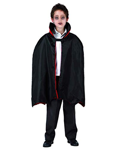 Atosa - 98796 - Accessoire De Déguisement - Carnaval Cape De Vampire - Enfant