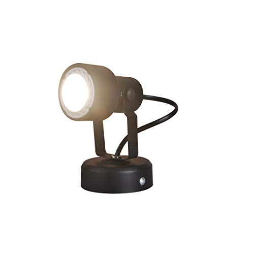 KING SHA LED Spotlight Accent Lamp 5W (50W Halogen Light Equiv.) MR16 GU10 Bulb Warm White CRI82 Cord-n-Plug