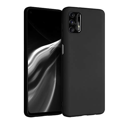 kwmobile Hülle kompatibel mit Motorola Moto G Pro (2021) / Moto G Stylus (2021) - Hülle Silikon - Soft Handyhülle - Handy Hülle in Schwarz matt