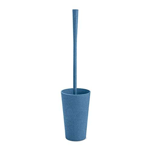 Koziol Toilettenbürste Rio, WC-Bürste, WC-Garnitur, Reinigungsbürste, Thermoplastischer Kunststoff, Organic Deep Blue, 5048675