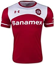 New 2015-16 Red Toluca Official Soccer Home Jersey (Large)