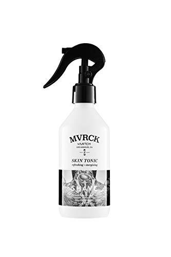 Paul Mitchell MVRCK by MITCH Skin Tonic - belebendes Gesichts-Wasser, vitalisiert die Männer-Haut vor und nach der Rasur dank kühlendem Menthol, 215 ml