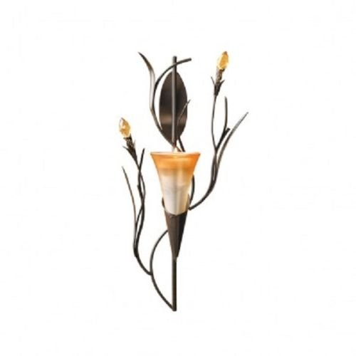 Gifts and Decor Dawn Lily Candle Holder Home Accent Decor Wall Sconce,san miguel wall sconces sconces wall decor,home decorators desk home decorators brexley home decorators collection blinds