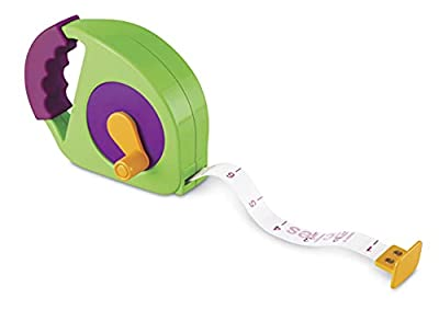 Learning Resources Simple Tape Measure, Measures 4 Feet, Construction Toy, Ages 3+ from Learning Resources