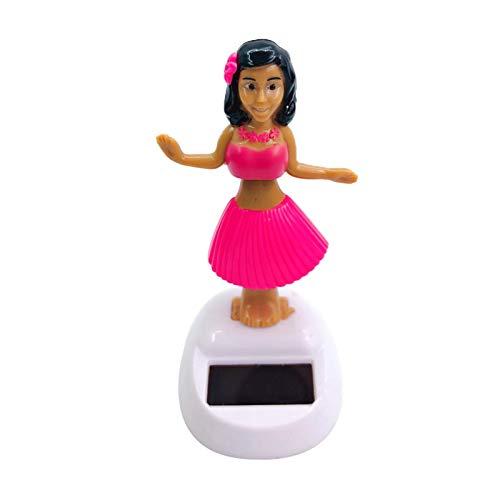 Danseuse Hawaienne Voiture, Figurine Solaire Dansante, Danseuse Hawaienne Voiture Qui Bouge, Créativité Figurine Hawaïenne Voiture Décoration De Voiture Solaire Danse Jouet Bureau Fournitures