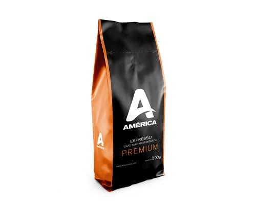 Café Torrado em Grãos América Premium - Pac. 500 g