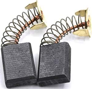 NEW Japanese Carbon Brushes Fits Harbor-FreightChicago-Electric6177691852619706968461969Compound MiterSaw