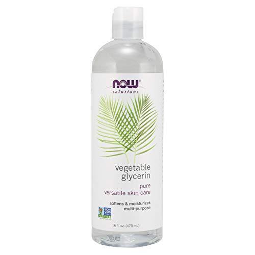 Now Solutions glycérine végétale, 473 ml.