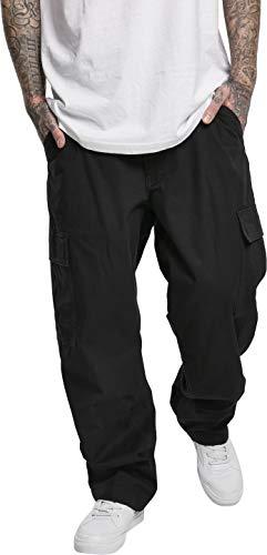 Southpole Herren Hose Cargo Pants Jeans, Black, 30