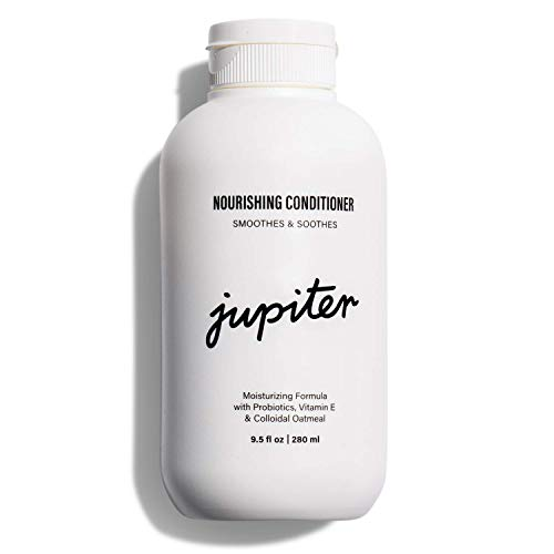 Jupiter Dry Scalp Nourishing Conditioner - Hair Moisturizer - Sulfate Free & Color Safe - Probiotic-Rich to Hydrate Scalp & Hair - Vegan & Natural Fragrance - Paraben & Phthalate Free - 9.5 fl oz