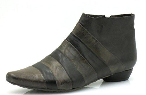 Virus Moda Lederstiefelette Damenschuhe Schuhe