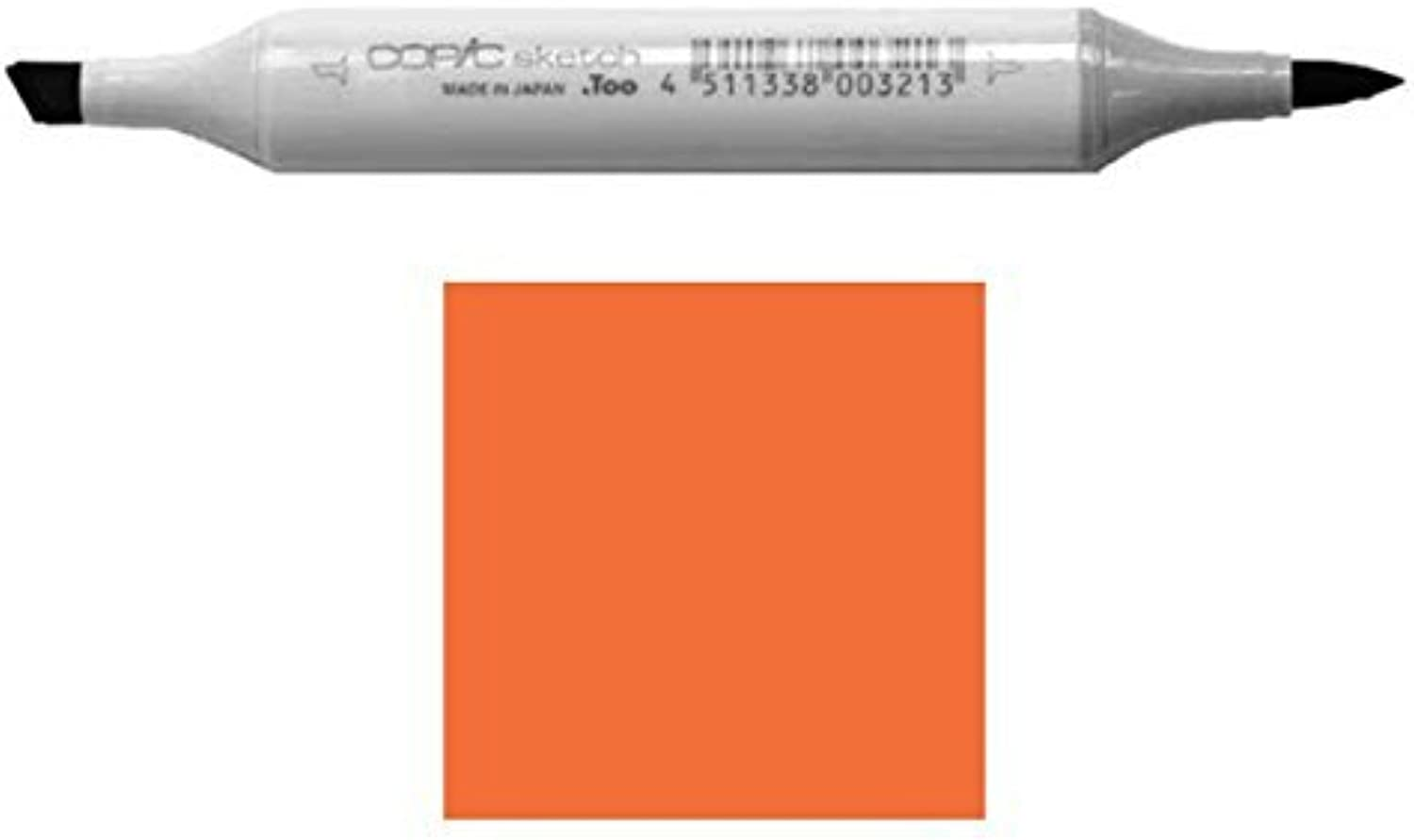 Copic Markers YR07-Sketch, Cadmium Orange by Copic Marker B01KB7VCSA     | Qualität
