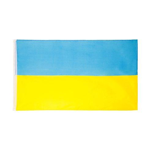 Brubaker Flagge Fahne Ukraine große Hissfahne 90x150 cm