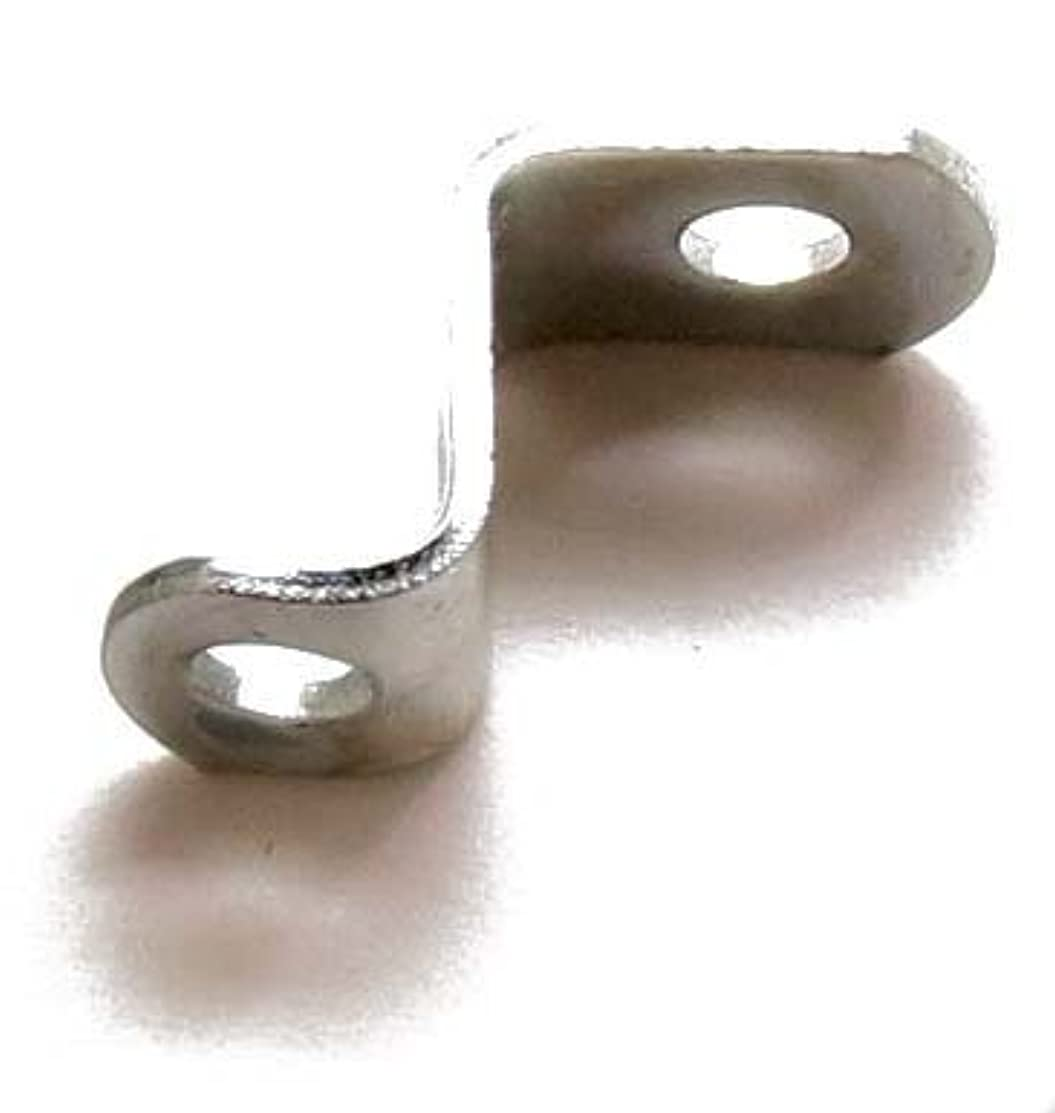 1/2 offset mounting canvas Z clips for picture framing -- #6 x 3/8 pan-head screws included -- 144 bulk pack! by ArtRight