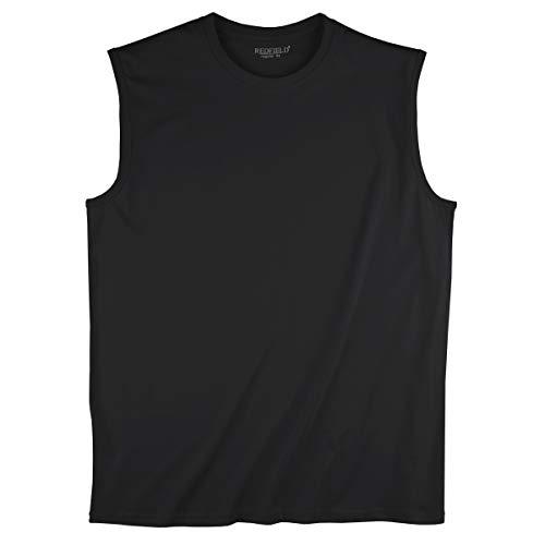 Redfield XXL Muskelshirt schwarz Übergröße, XL Größe:8XL