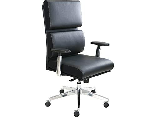 Tempur-Pedic TP1000 Leather Executive Chair, Black