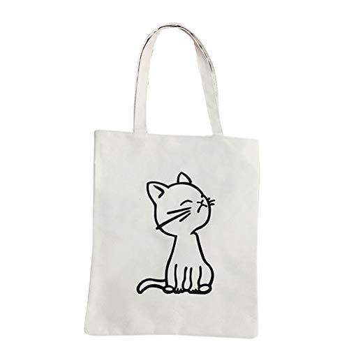 Bfmyxgs Mother es Day Women Canvas Handtasche Printed Shoulder bag Capacity Beach Tote Shopping Handtasche Totes Rucksack Schultertaschen Totes Waist...