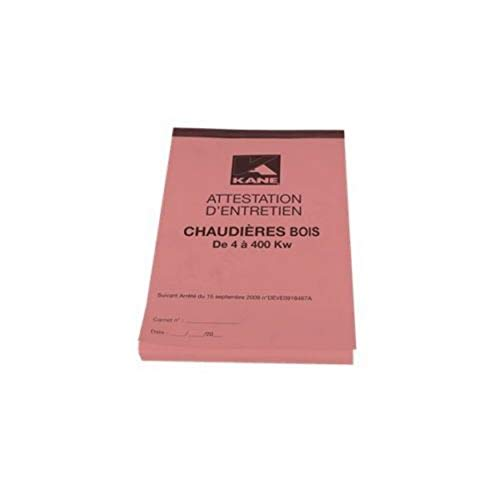 Kane - Libro calderas de madera Certificación 4-400KW