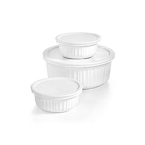 Corningware French White 6 Piece set