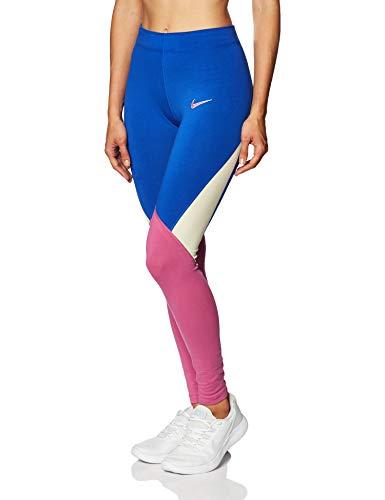 Nike Damen NSW Legging Tights, Game Royal/Cosmic Fuchsia/FOSS, L
