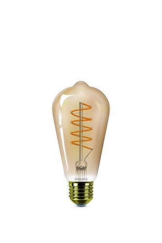 Philips ampoule LED Edison E27 25W Blanc Chaud Ambré, Compatible Variateur, Verre