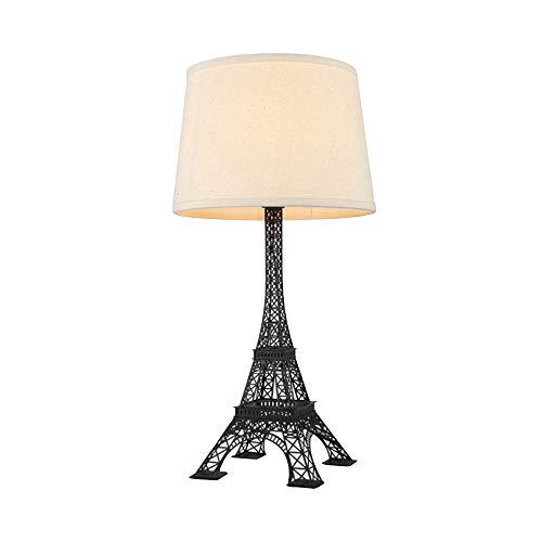 Tour Eiffel Lampe De Table Porte-Lampe En Fer Forgé Style Européen La Créativité Moderne Éclairage Dart Bar Magasin De Vêtements Chambre À Coucher Salle Détude Lampe De Chevet (Φ30 * H60)