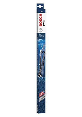 Bosch Twin Escobilla limpiaparabrisas 552, Longitud: 550 mm/400 mm – 1 juego para el parabrisas (frontal)