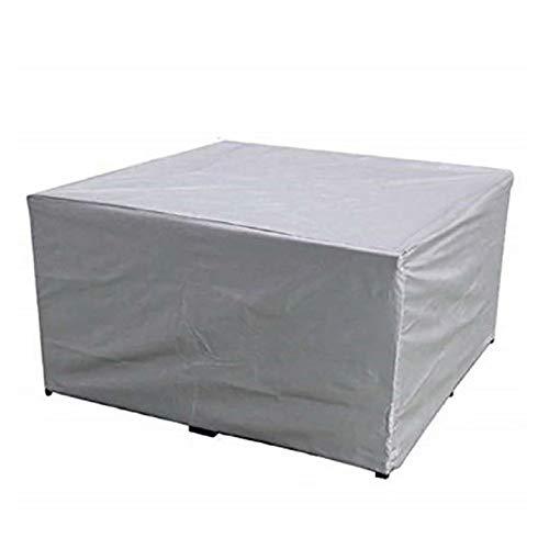Cubiertas para muebles de jardín, cubierta de juego de muebles seccionales para exteriores de varios tamaños, fundas de tela Oxford impermeables a prueba de viento y anti-UV transpirables