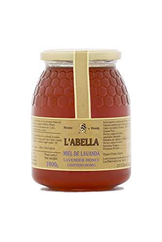L'abella Mel – Miel de lavanda – Miel natural recolectada en España (1kg)