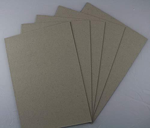 25 Stück Graukarton Format DIN A2-0,5mm starke Graupappe Bastelpappe