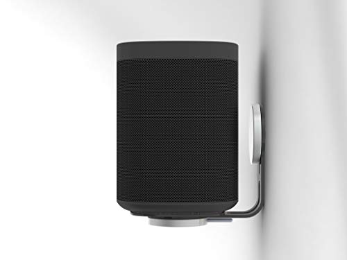 Nova Black Wall Mounts (Pair) for Sonos One (Gen1, Gen2), One SL and Play:1