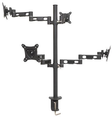 AVS37 - QUAD MULTI-MONITOR DESK MOUNT voor 13