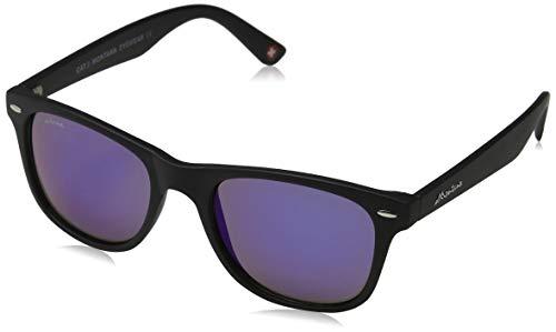 Sunoptic Unisex - Adulto Montana Occhiali da sole, Nero (Black/Revo Blue),