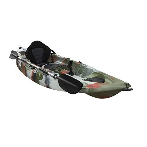 Cambridge Kayaks ES, Zander Selva Solo Kayak DE Pesca Y Paseo, RIGIDO,