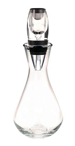 Aeratore istantaneo per vino con decanter