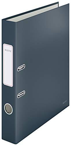 Leitz Qualitäts-Ordner, 350 Blatt, 50mm Rückenbreite, Samtgrau, A4, Cosy-Serie, 10620089