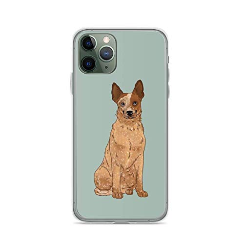 Phone Case Red Australian Cattle Dog Compatible with iPhone 6 6s 7 8 X XS XR 11 Pro Max SE 2020 Samsung Galaxy Anti Absorption Funny