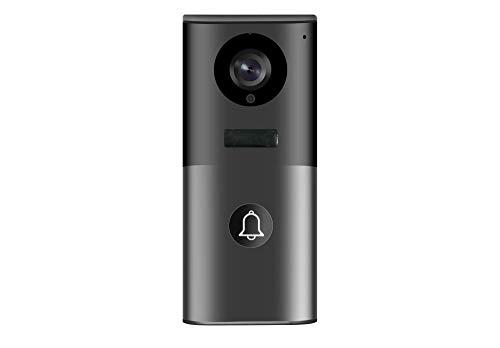 Weber Protect Video Türklingel, WLAN Türsprechanlage inkl. Wireless Klingel mit App Steuerung. Gegensprechanlage, Bewegungserkennung, Nachtsicht, Keine Cloud, Keine Abos.