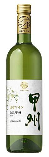 マンズワイン 山梨 甲州 [ 白ワイン 辛口 日本 750ml ]