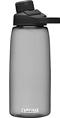 CamelBak Chute Mag BPA Free Water Bottle 32 oz, Charcoal