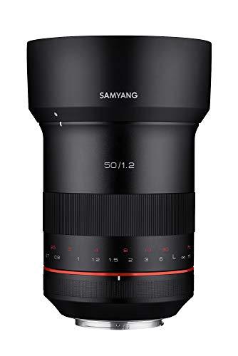Samyang XP 50mm f/1.2 Lente de Enfoque Manual para Canon EF
